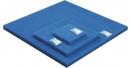 Gąbki filtracyjne w arkuszach drobnoziarnista.