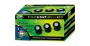 AQUA NOVA NPL1-LED3 WODOODPORNA LAMPA LED  3x1,6W 12V szkiełka kolorowe